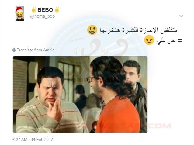 الطالب المصري في الإجازات