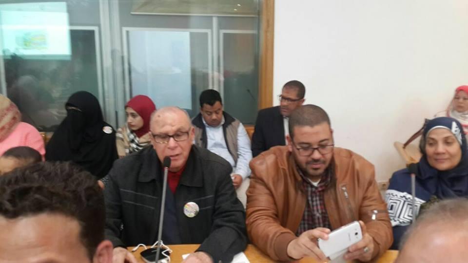 """نقابة الاجتماعيين تكرم  """" احمد القاضي """"  بدار الاوبرا"""