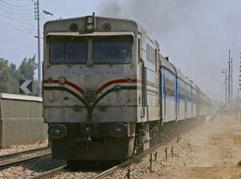 قطار الاسكندرية يدهس طالبتين بكفر الدوار