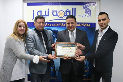 """"""" القمة نيوز """"  تكرم  عمرو الزمر"""