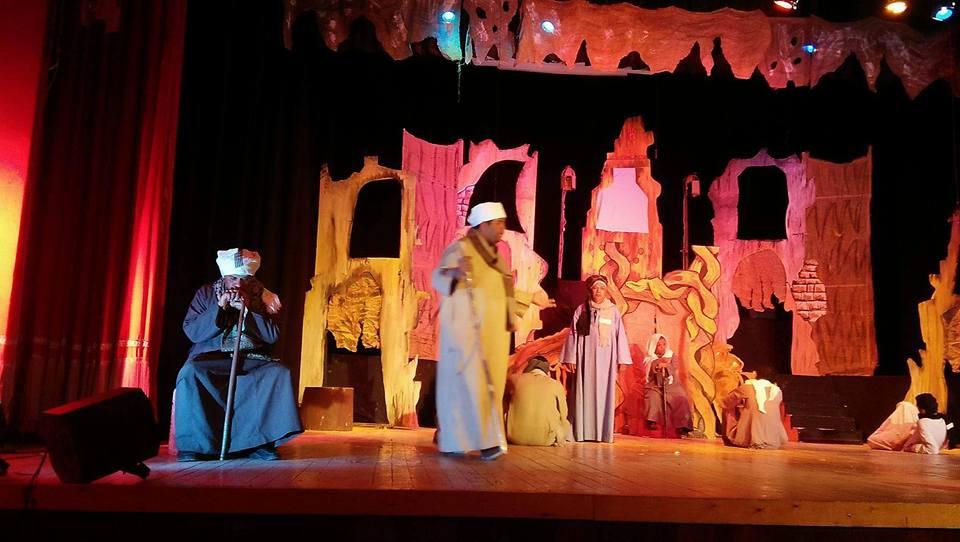 """عرض لجنة التقيم للعرض المسرحى """"سيرة بنى زوال """" لقومية فرع ثقافة سوهاج"""