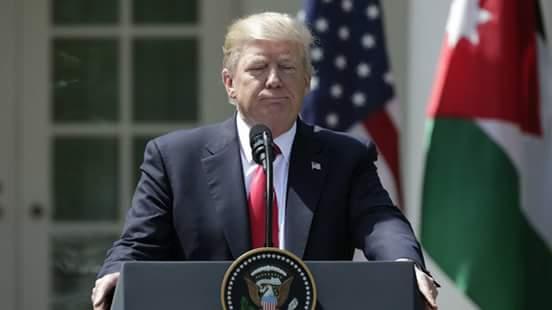 بعد ضرب سوريا ب 70 صاروخ توماهوك ترامب يدعوا لانهاء المذابح واراقة الدماء