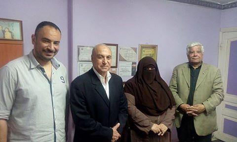 لقاء القمة في ذكرى أكتوبر اللواء مجدي شحاته و المقاتل زغلول وهبه