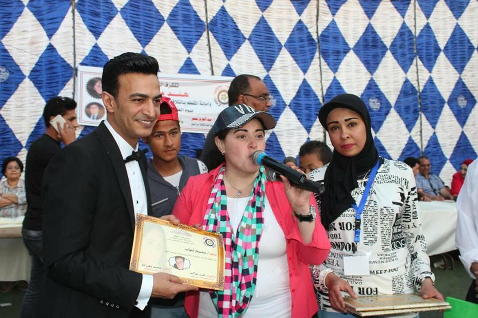 هند عاكف تحتفل بيوم الطفل ويوم الشهيد