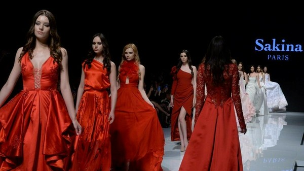 أسبوع الموضة في عاصمة الموضة بيروت والمصممة الفرنسية Sakina