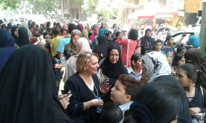 """بالصور : اختتم حملة طرق الأبواب بعنوان"""";المرأة المصرية ..صانعة المستقبل"""""""