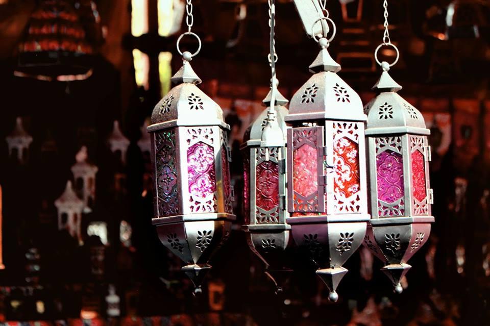 مظاهر استقبال رمضان بالفوانيس