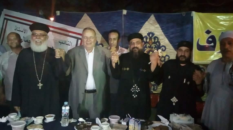 بالصور: ائتلاف حب الوطن ينظم إفطار الوحده الوطنيه اليوم بحلوان