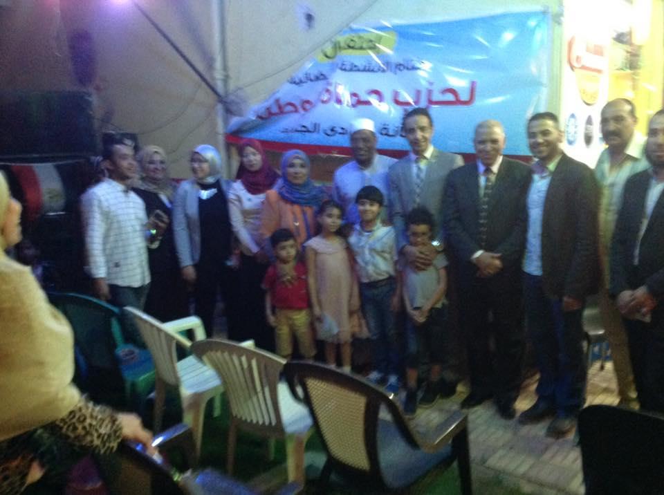 بالصور حماة وطن الوادي الجديد تنظم حفل ختام الأنشطة الرمضانية