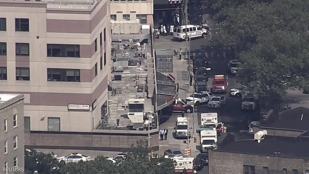 هجوم في مستشفى برونكس ليبانون في نيويورك