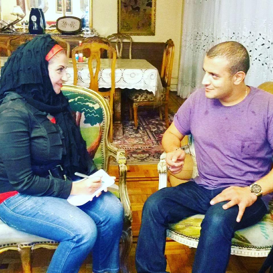 المغامر مازن حمزة أول مصرى عربى متحدي الاعاقة متسلق جبال