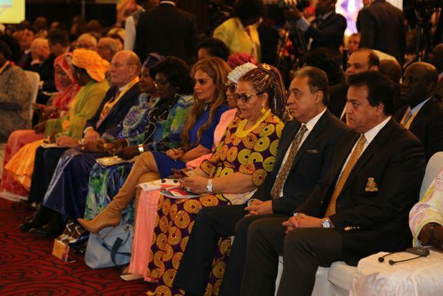 وزيرا التعليم العالى والبحث العلمى والصحة يشهدان فعاليات المؤتمر السنوى لمؤسسة ميرك للتمويل