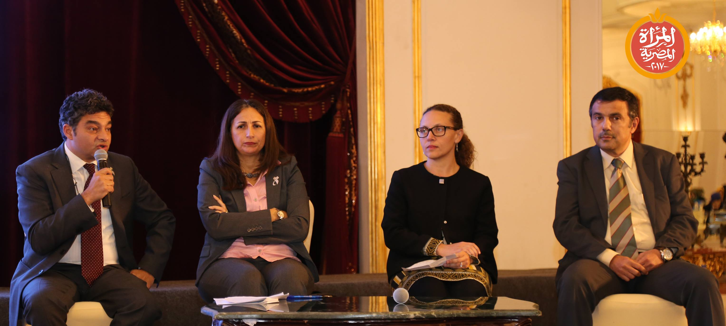 """جلسة بعنوان"""" الشمول المالى للمرأة"""" ضمن مؤتمر المرأة المصرية والتنمية المستدامة 2030"""