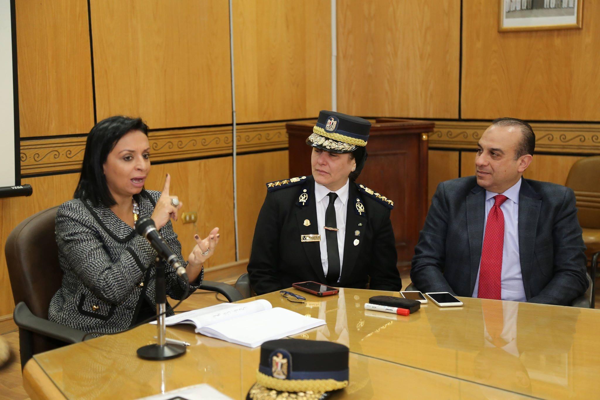 رئيسة المجلس القومى للمرأة تلقي اليوم محاضرة بأكاديمية الشرطة للضابطات