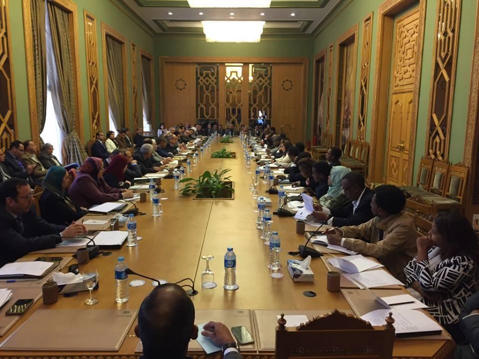 اللجنة العليا المشتركة بين مصر وإثيوبيا تبدأ أعمالها على مستوى كبار المسئولين
