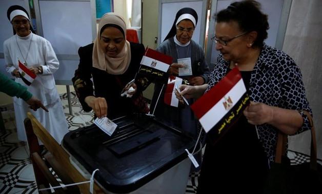 رئيس بعثة الاتحاد الافريقي يشيد بالتعاون في مراقبة الانتخابات المصرية