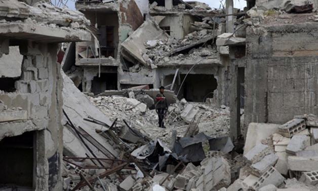 الجدول الزمني للهجمات الكيميائية في سوريا