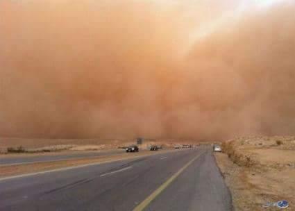 نصائح هامة لمواجهة العواصف الرملية بجميع المحافظات