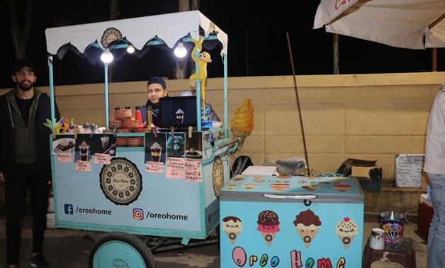 نظرة على تجارة عربات الطعام في مصر