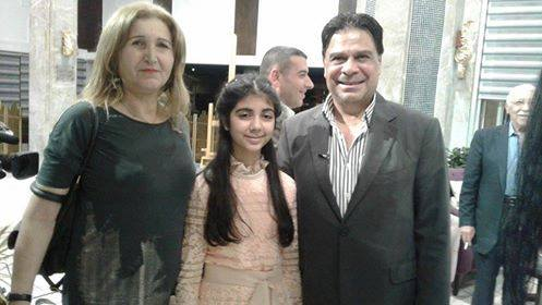 حوار صحفي مع الزهرة النيسانية البتول مهيب اسكيف