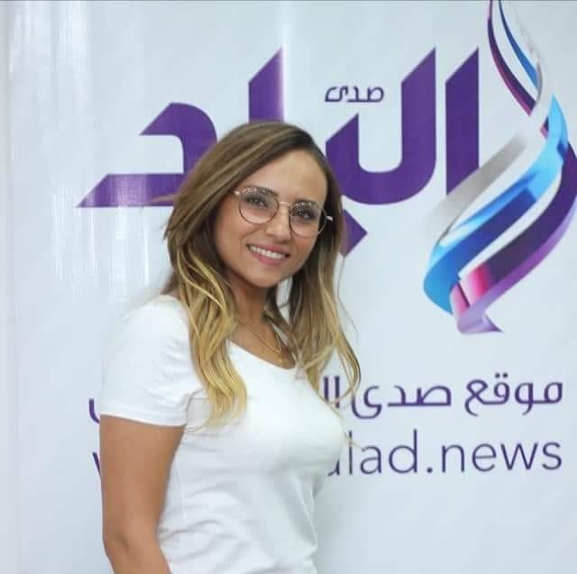 قناة صدى البلد تتعاقد مع المذيعة سالي حماد مذيعة لتقديم برنامج عن المرأة