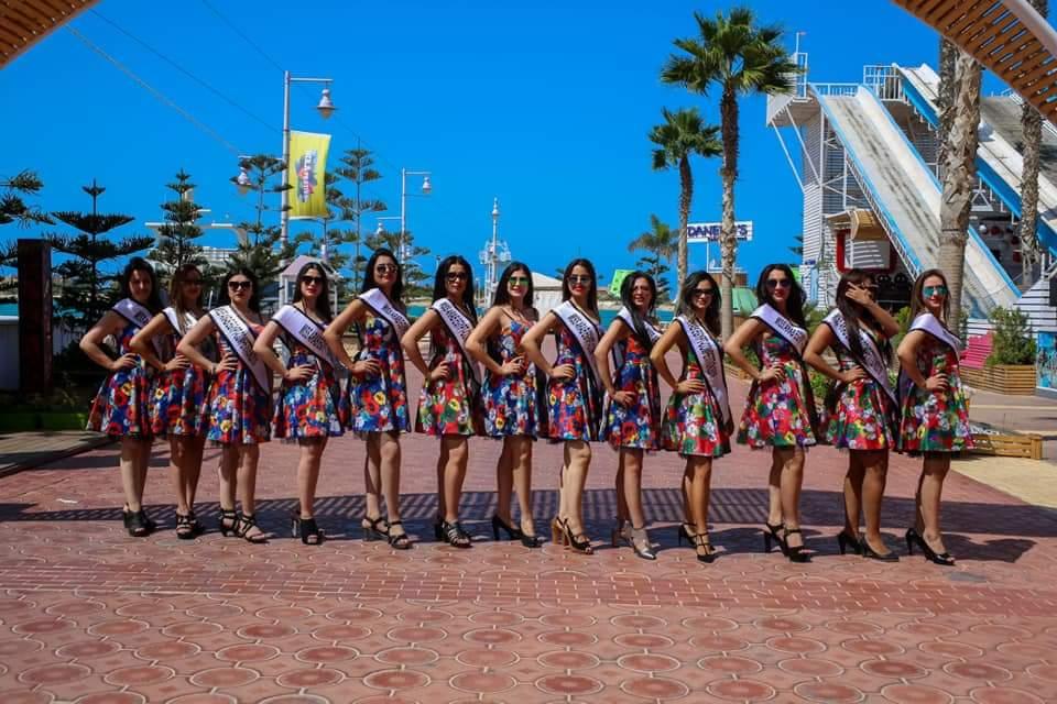 ملكات جمال العرب مصر فى جولة بحرية ببورتومارينا