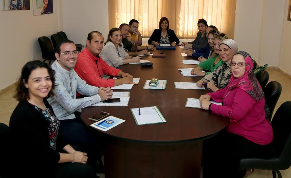 المجلس القومي للمرأة يناقش خطة عمل لجنة الاعلام