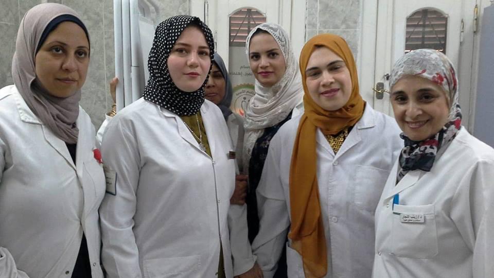 القومى للمرأة يشارك فى القافلة الطبية في حي الأسمرات
