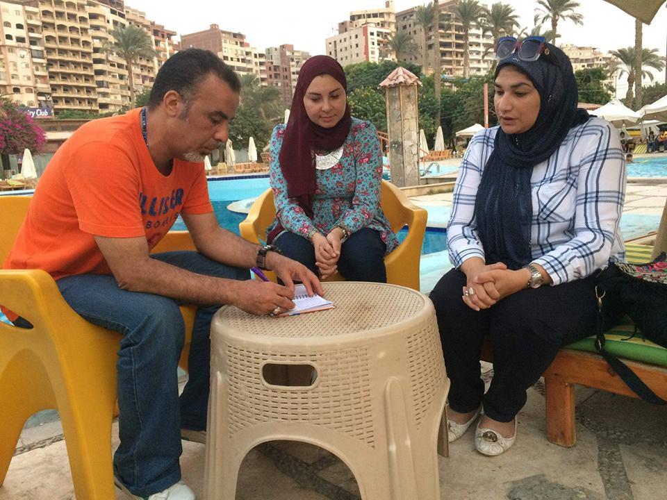 مهندسة الديكوباج مروة مسعود تؤكد أن والدها قدوتها و معلمها الأول