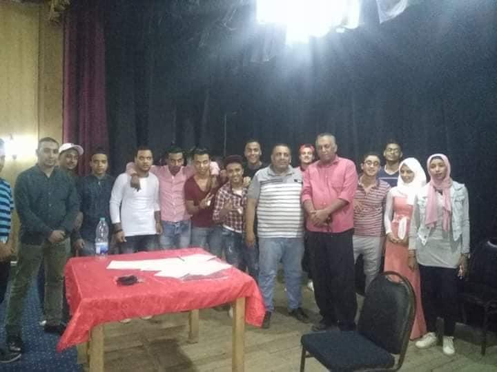 """""""مصر الجمال"""" معرض فنى وندوات متنوعه بثقافة سوهاج"""