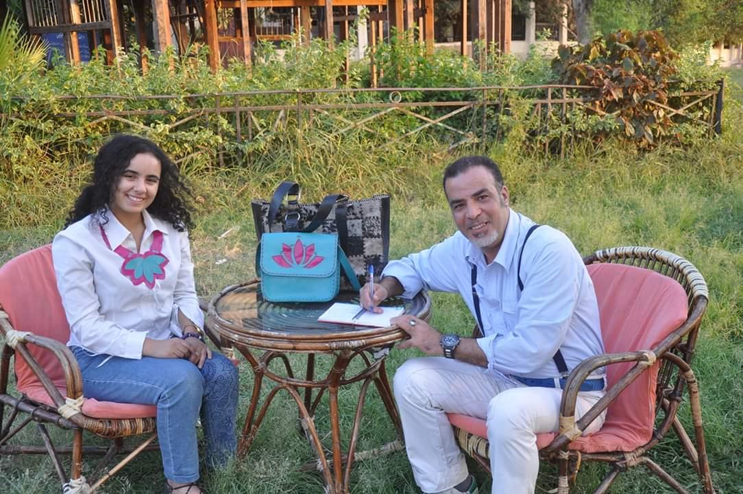 هاجر عصام تؤكد : بدايتي الحقيقية كانت مع مبادرة الست المصرية