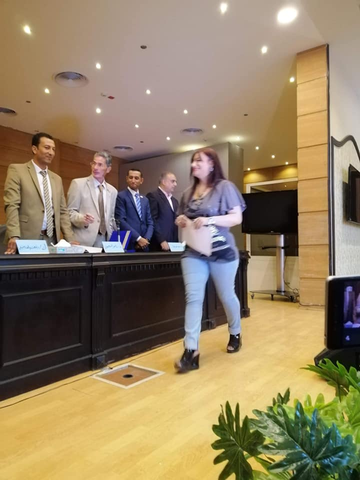 منظمة الضمير العالمي لحقوق الإنسان تكرم السفيرة زيزي أحمد