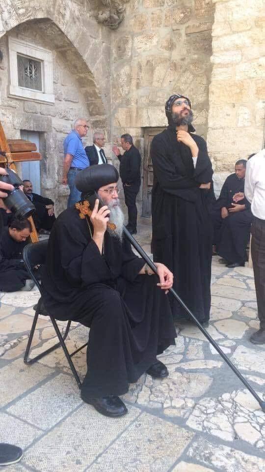 إنتصار الكنيسة المصرية والخارجية في قضية دير السلطان وقبول شروطها