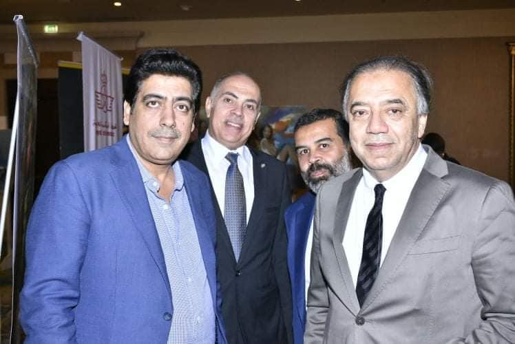 بالصور .. تكريم السفير المغربي والجريني والقاسم بالملتقي المغربي المصري