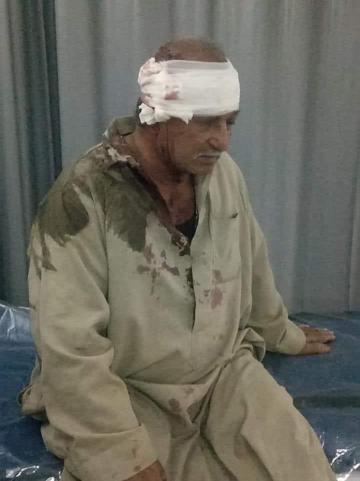 مستشفى طوارئ كفر سعد خاليه من الأطباء ومصاب يثتغيث