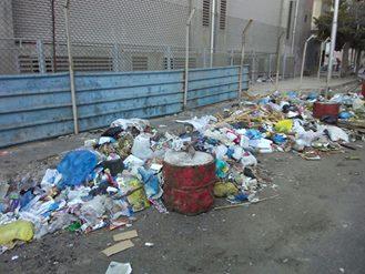 إستياء الشارع السكندرى من إنتشار القمامة والمخلفات بكافة الميادين
