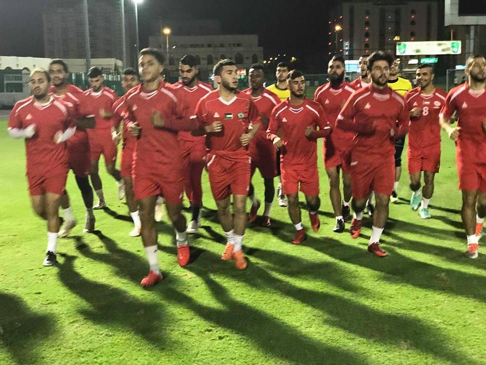 اليوم منتخب فلسطين الاولمبي يواجه نظيره السعودي