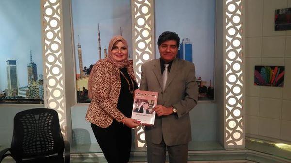 العالم المصري يكرم الاعلامية رشا محمدي في برنامج صباح الجمال علي الهواء مباشرة