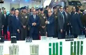بالفيديو جولة في الجناح المصرى بالمعرض الدولي للصناعات الدفاعية