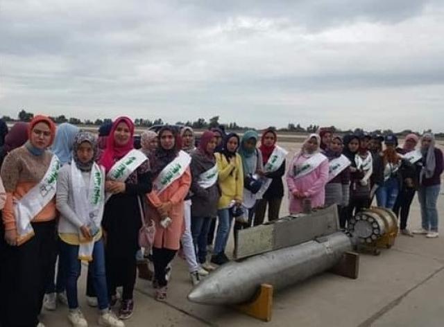 طلاب جامعة المنوفية في زيارة ميدانية لقاعدة طنطا الجوية