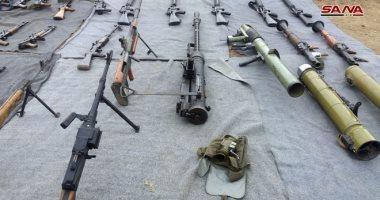 العثور على أسلحة إسرائيلية فى ريف دمشق والقنيطرة بسوريا