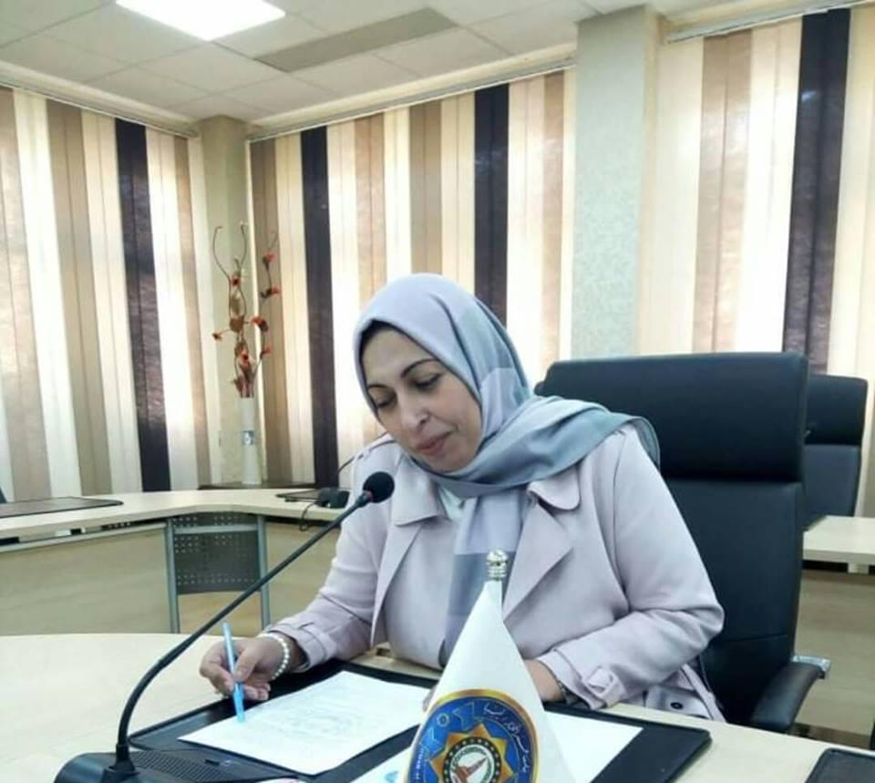 جـازيـة شـعيـتير تشيد بضرورة التمكين للمرأة الليبية