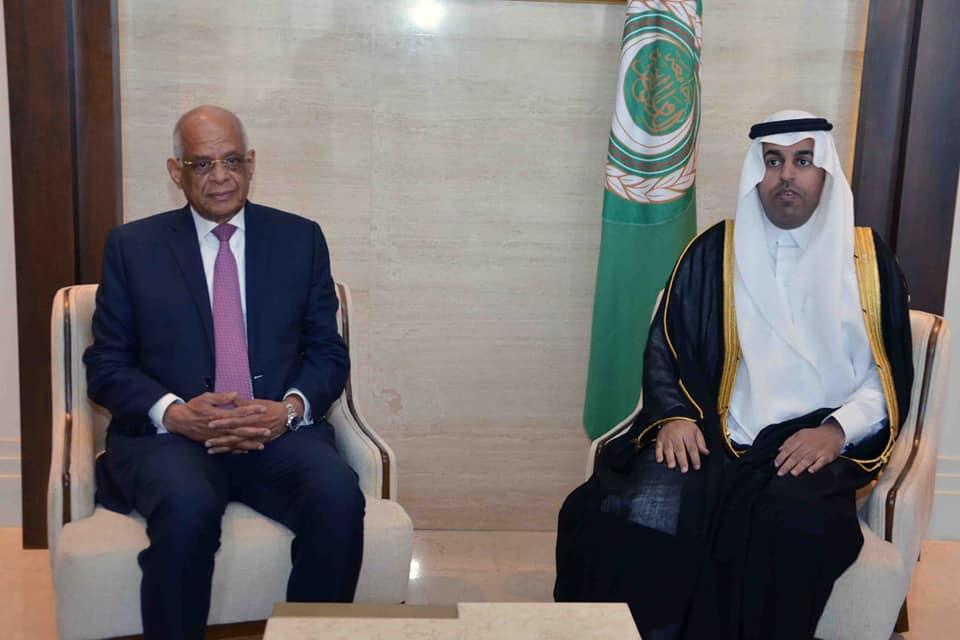 السلمي يؤكد استمرار البرلمان العربي في الدفاع عن القضايا العربية الكبرى