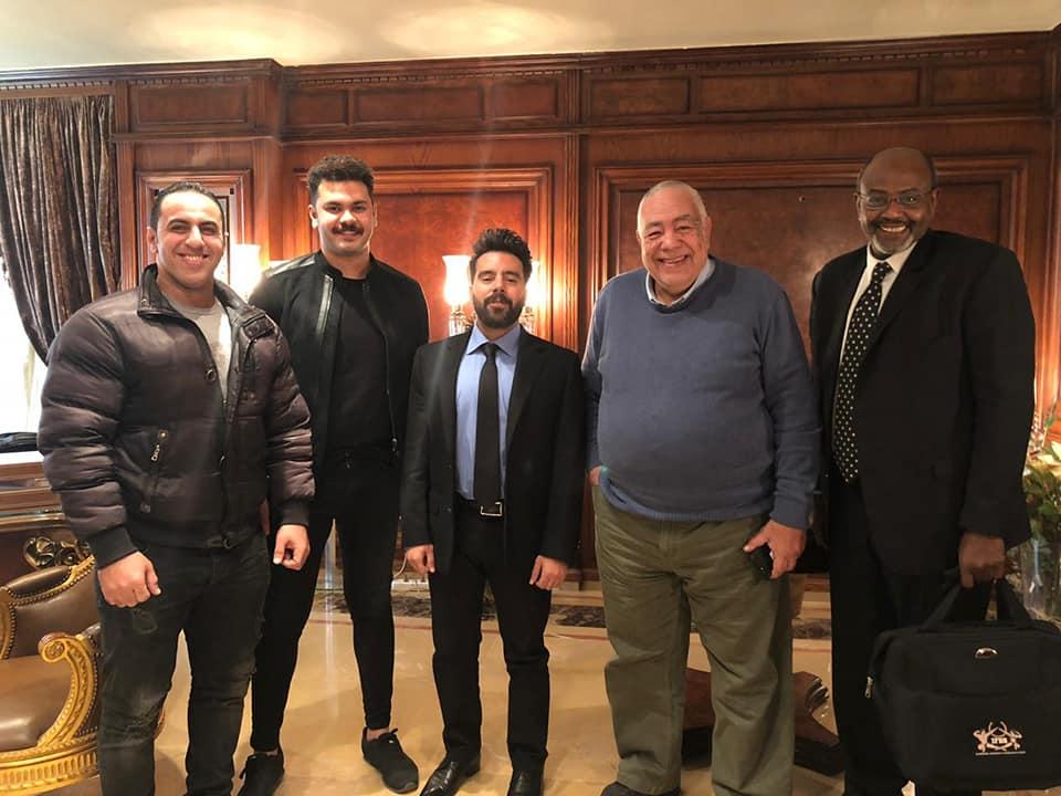 رئيس اتحاد كمال الاجسام يلتقي برئيس اتحاد الاستريد وورك اوت لمناقشة تطورات الرياضه المصريه