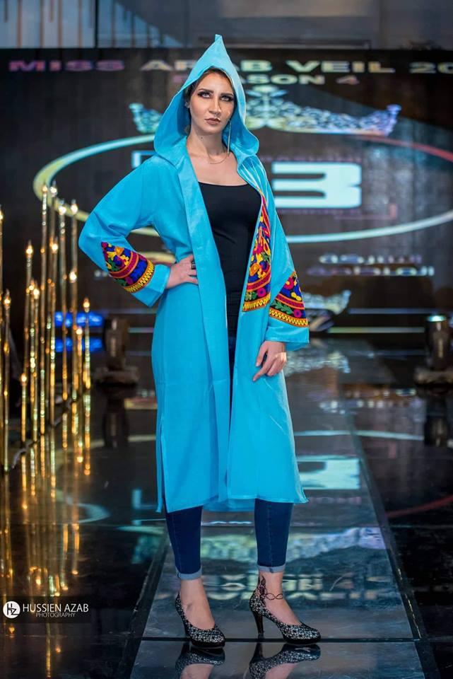 """بالصور... أزياء """"ايمان فوزى"""" تضيء عالم الموضة لعام 2019"""