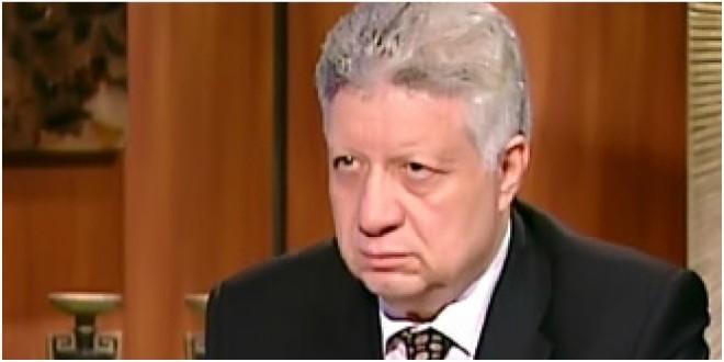 «رئيس الزمالك» بعد ظهوره اعلاميا مره اخري...يهاجم عبد الحفيظ