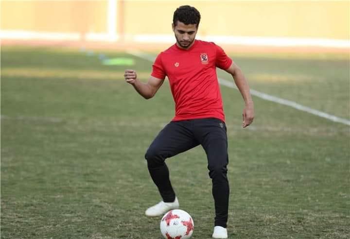 محمد محمود لاعب الأهلي تعرض لإصابة بالرباط الصليبي