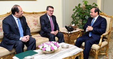 الرئيس السيسي يبحث التعاون المشترك مع مدير مخابرات اليونان