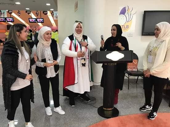 إقامة مسابقة البولينغ في مدرسة السفر الأهلية بدولة الكويت