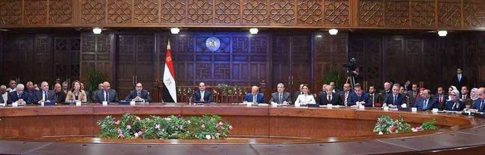 السيسى يقرر إقامة مجمع مميكن يضم مقرات المصالح الحكومية بالوادي الجديد .